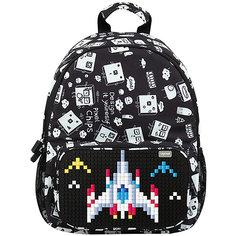 Школьный рюкзак Upixel «Floating Puff», черный