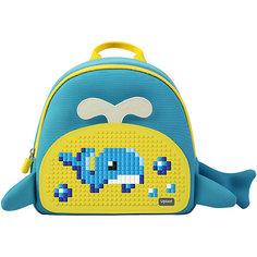 Рюкзак детский Китёнок Upixel, синий-желтый