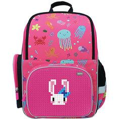 Школьный рюкзак Upixel «Starry Sky», фуксия