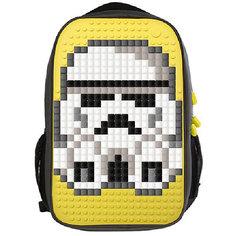 Пиксельный рюкзак для ноутбука Upixel «Full Screen Biz Backpack/Laptop bag», желтый