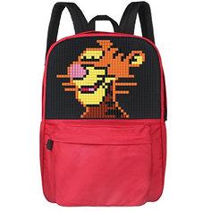 Школьный рюкзак Upixel «Classic school pixel backpack», красный