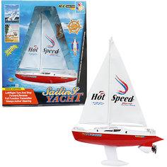 Яхта с парусом на р/у, 38 см 1 Toy