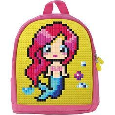 Мини рюкзак Upixel «Mini Backpack», розовый-желтый