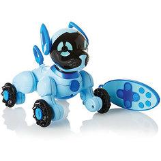 Интерактивная игрушка Wowwee Собачка Чиппи, голубая