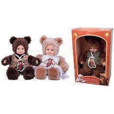 "Мягкая кукла Unimax ""Anne Geddes. Детки-мишки"", 30 см"