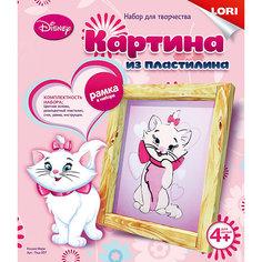 """Картина из пластилина """"Кошка Мари"""" Lori"""