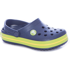 Сабо Crocband™ clog, синий, салатовый Crocs