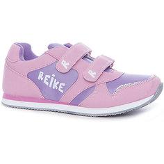 Полуботинки для девочки Reike