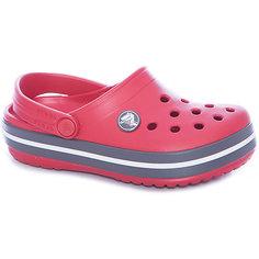 Сабо Crocband™ clog, красный Crocs