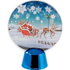 """Новогодний светильник Magic Land """"Дед Мороз в санях"""" Волшебная Страна"""