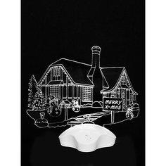 """Новогодний светильник Magic Land """"Деревня"""" Волшебная Страна"""