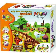 """Игровой набор для лепки из глины """"Animal Park"""", Angel Clay"""