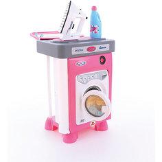 """Набор для уборки Полесье """"Carmen""""со стиральной машиной, в коробке"""