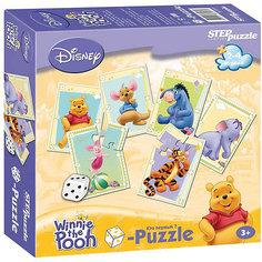 """Пазл-игра Step Puzzle Кубик-Puzzle """"Disney Медвежонок Винни"""""""