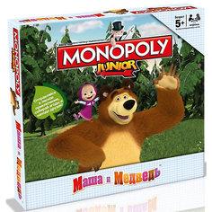 """Настольная игра """"Монополия """"Маша и Медведь"""" Hasbro"""