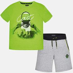 Комплект:Футболка с длинным рукавом,брюки Mayoral для мальчика