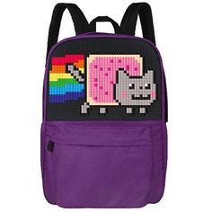 Школьный рюкзак Upixel «Classic school pixel backpack», фиолетовый