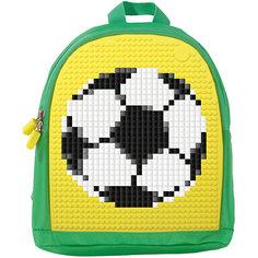 Мини рюкзак Upixel «Mini Backpack», зеленый-желтый