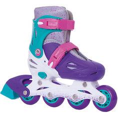 Раздвижные роликовые коньки Moby Kids 34-37, фиолетовые