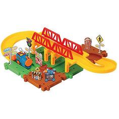 Железная дорога Devik Toys с поездом (свет, звук)