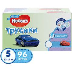 Трусики-подгузники Huggies 5 для мальчиков, 13-17 кг, Disney Box, 48*2, 96 шт.