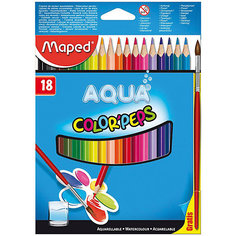 Набор цветных карандашей АКВА COLORPEPS, 18 цв. Maped