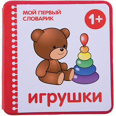 """Мой первый словарик """"Игрушки"""" (EVA) Мозаика Синтез"""