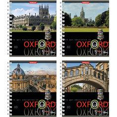 "Тетрадь на спирали, 80 листов ""Oxford"", УФ-лак, упаковка из 4 шт. Erich Krause"