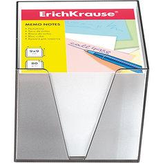 Erich Krause Бумага настольная  90*90*90 мм в пластиковом контейнере