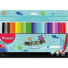 Фломастеры Maped, 24 цвета