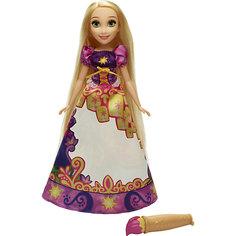 Модная кукла Рапунцель в юбке с проявляющимся принтом, Принцессы Дисней Hasbro