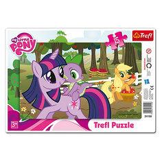"Пазл  ""Дружба -это чудо"", 15 деталей, My little Pony Trefl"