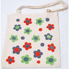 "Стигис-аппликация на эко-сумке ""Цветочки"" Stigis"