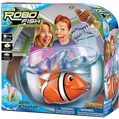 "РобоРыбка ""Клоун"" с аквариумом, RoboFish Zuru"