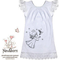 Крестильное платье, шитье, р-р 80, NewBorn, белый