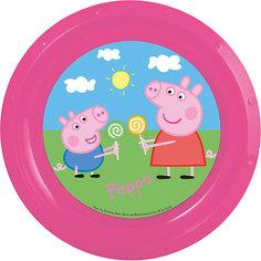 "Тарелка ""Свинка Пеппа"", диаметр 21,5 см МФК профит"