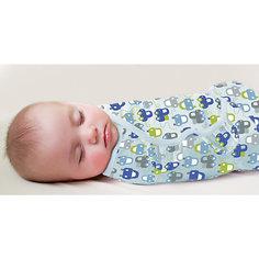 Конверт для пеленания на липучке, SWADDLEME®, р-р L, 3 шт., машинки Summer Infant