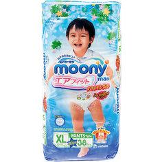 Трусики-подгузники для мальчиков Moony Man, XL 12-17 кг., 38 шт