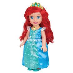 """Кукла """"Ариэль со светящимся амулетом"""", 37 см, со звуком, Принцессы Дисней, Карапуз"""
