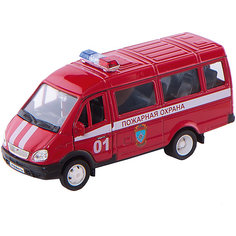 Welly Модель машины ГАЗель Пожарная охрана