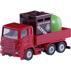 SIKU 0828 Грузовик с мусорными контейнерами
