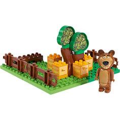 Конструктор Маша и Медведь, Пчелиная ферма Мишки,  21 деталь, BIG