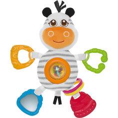 """Мягкая игрушка-погремушка """"Зебра"""", Chicco"""