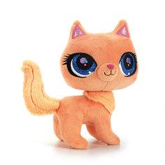 """Мягкая игрушка  """"Рыжая кошка"""", 17 см, со звуком,  МУЛЬТИ-ПУЛЬТИ"""
