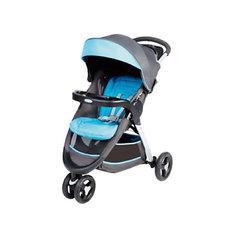Прогулочная коляска Graco Fastaction Fold, серый-голубой