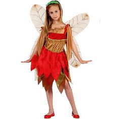 """Маскарадный костюм для девочки """"Лесная фея"""", 6-8  лет Magic Time"""