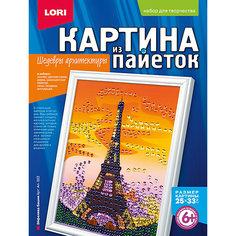 """Картина из пайеток """"Эйфелева башня"""", LORI"""