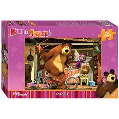 "Пазл ""Маша и Медведь"", 24 MAXI детали, Step Puzzle"