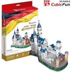 """Пазл 3D """"Замок Нойшванштайн (Германия)"""", CubicFun"""