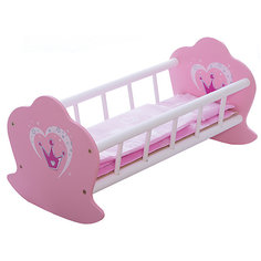 "Кроватка-люлька деревянная ""Корона"", Mary Poppins"
